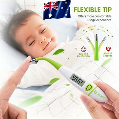 Personal LCD Medical Body Thermometer Oral Rectal Digital For Adult Child Baby