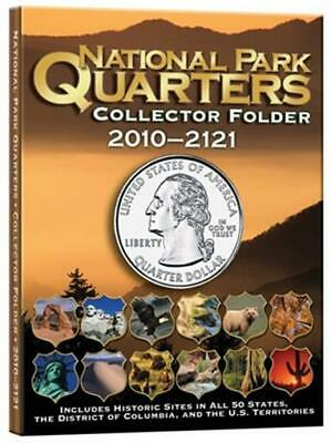 National Park Quarters Coin Collector Folder 60 Openings Album Mint 2010 2021