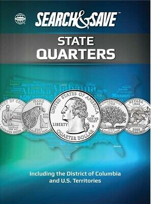 State Quarters Folder + District of Columbia US Territories Whitman Search Save