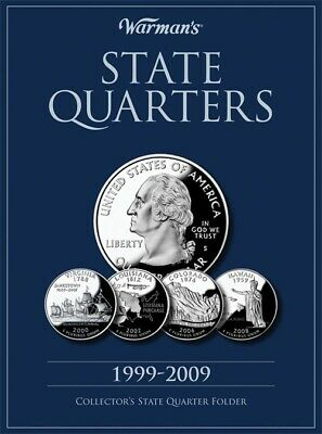 Coin Collecting Folder Small Album For US State Quarters 1999-2009 By Warman's