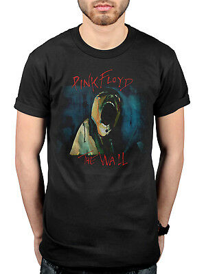 Official Pink Floyd The Wall Scream T-Shirt The Division Bell Atom Heart Mother