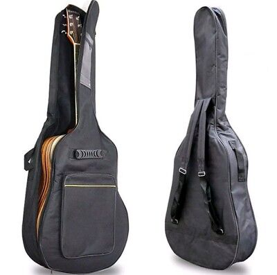 Modern Full Size Padded Protective Classical Acoustic Guitar Back Bag Carry Case