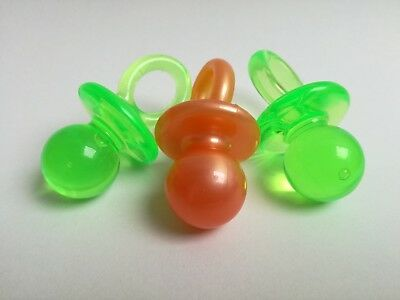 90s vintage tutters tuttertjes pacifiers speentjes totoches tétines charms 3x