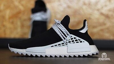 "best loved 7649a b0bc2 ADIDAS HUMAN RACE NMD ""Pharrell x Chanel"" US 11 / UK 10,5 Boost Kanye Custom"