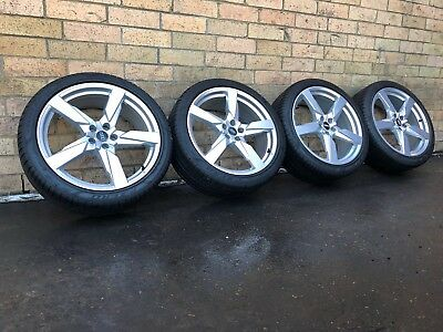 audi sq5 wheels And Tyres 21 Inch Genuine Set Near New With Pirelli Tyres