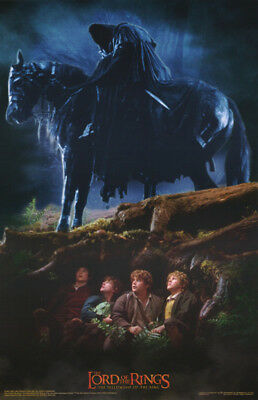 2 Posters:movie Repro: Lord Of The Rings - Hobbits & Ringwraiths   #3527  Rp81 K