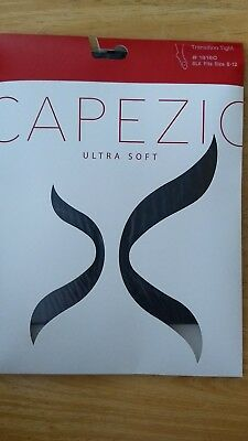 Capezio Transition Tights Girls' Size 8 - 12 NEW in Package! #1816C Black