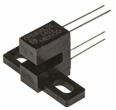 Optek OPB830L51 Screw Mount Slotted Optical Switch, Phototransistor Output