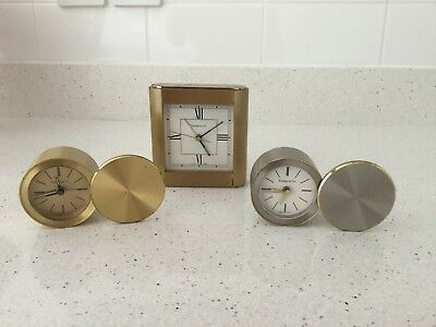 3 Tiffany Clocks Spares or Repairs
