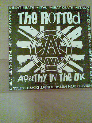 The Rotted-Apathy in the UK,7´´Vinyl,DeathMetal,D-Beat,Discharge,Napalm Death
