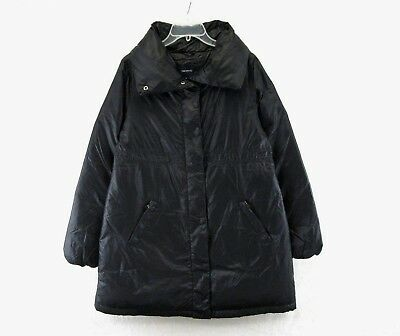 Gap maternity Coat Black Puffy Down Filled Jacket Size M #H800