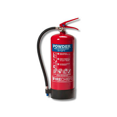 IVG Firechief Fire Extinguisher Refillable Dry Powder for    6kg