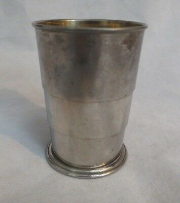 """Antique Wwii Collapsible Travel Cup """"made In Germany U.s. Zone"""""""