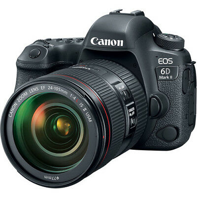Canon EOS 6D Mark II DSLR Camera with 24-105mm f/4 Lens IS II USM