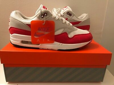purchase cheap f6d9c 1478c Nike Air Max 1 Anniversary Og Red Size 9 Great Condition 908375-103