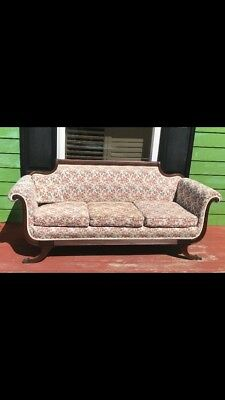 Floral Antique Couch