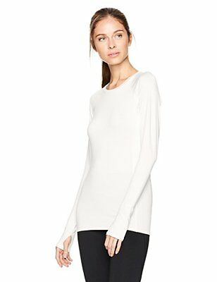 Tommie Copper Women's Performance Raglan Long sleeve T-Shirt, White Size 2XL