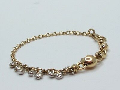 Armband Gold 750 Brillanten 0,16 Ct  Jg 9710030020011
