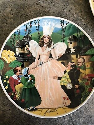 Wizard of Oz Collection Knowles Plates - Set of Three