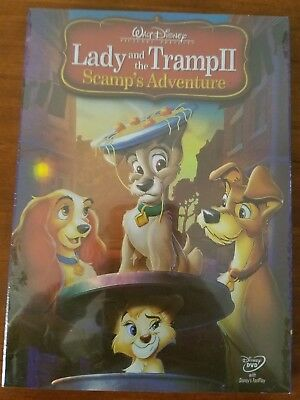 Lady And The Tramp 2 Ii Scamps Adventure Disney Dvd New 10 99 Picclick