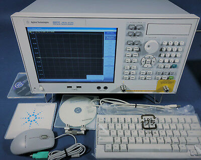 Agilent/Keysight E5071C/008/285/1E5 Network Analyzer, 8.5 GHz, 2 Port