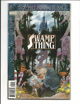 Swamp Thing Annual # 7 (Dc Vertigo, 1993), Vf/nm