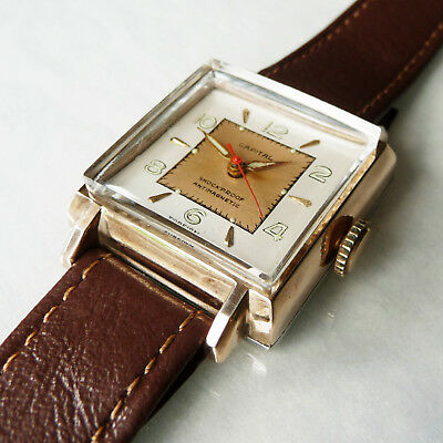 Vintage CAPITAL art deco style manual wind watch, working well.