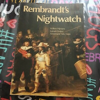 Rembrandt's Nightwatch ~ 1978 Siithoff ~ Soft Cover ~ Art Book ~ Rembrandt