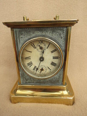 Antique German Musical Carriage Clock For Spares Repair