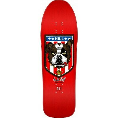 """Powell Peralta Frankie Hill Reissue Skateboard 10"""" Red Free post ON SALE"""