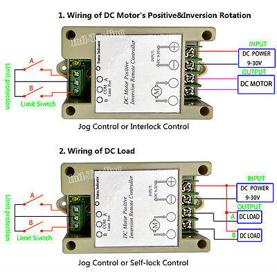 Linear Actuator 9-30V DC Motor Controller Wireless Remote Control Kits Auto Lift