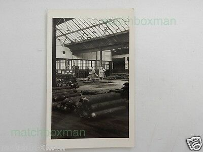 Vintage Industrial Scene Early (20Th Real-Photograph Unused Old Postcard M8/6