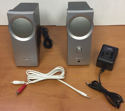 Bose Companion 2 Multimedia Computer Amplified Speaker System w/ Power Adapter