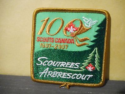 2007 Scout Trees For Canada,Boy Scouts of Canada Patch,100 years 1907-2007