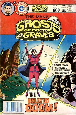 The Many Ghosts Of Dr Graves - All 72 Issues/  Dvd Rom Collection