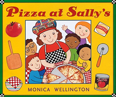 Wellington, Monica-Pizza At Sally`S  (US IMPORT)  BOOK NEW