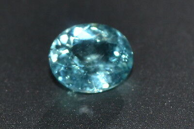 Lovely 1.01ct Light Blue Natural Oval Apatite Gemstone