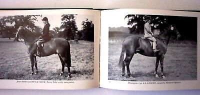 CHAMPION HORSES & PONIES OF THE SHOW RING - Morris, 1956 1st Ed. Illustrated