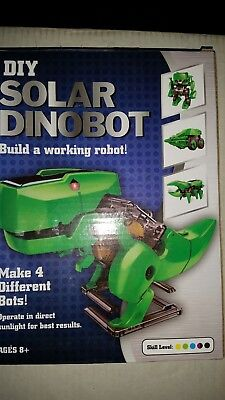 Do it yourself tech kit mini solar powered robot makes 4 types dino do it yourself tech kit mini solar powered robot makes 4 types dino bots solutioingenieria Choice Image