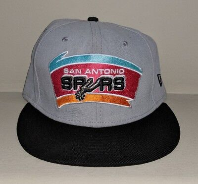 fa959e8c7a90e5 San Antonio Spurs South Beach New Era Hardwood Classic Fitted 7-3/8 Hat