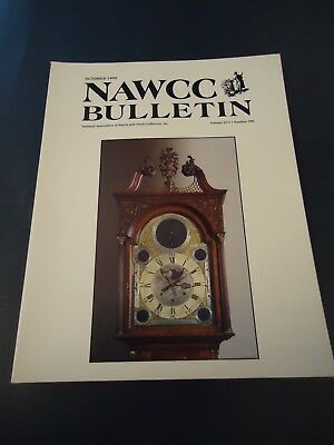 NAWCC Bulletin Guide October 1995 No. 298 RR Watches