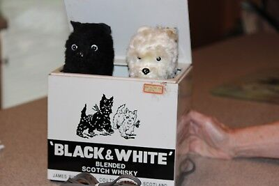 Scotty Dog Black & White Jack in the Box