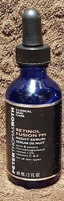 Peter Thomas Roth Retinol Fusion PM Night Serum 2oz UNSEALED