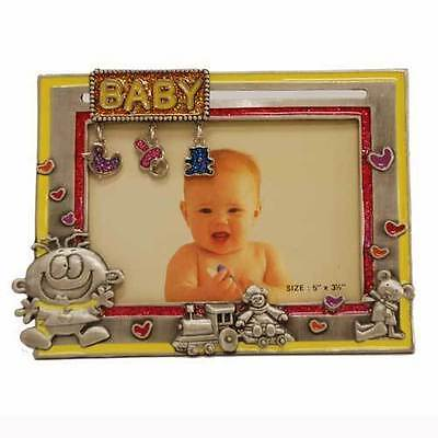 Pewter Baby Photo Frame  (RRP $26.95)