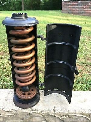 Vintage cast iron Victor water heater-Steampunk-New old stock