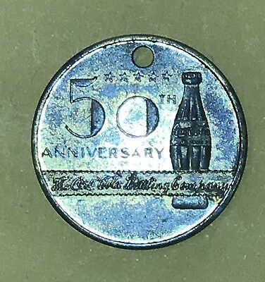 Coca Coca Bottling Company 50th Anniversary Coin
