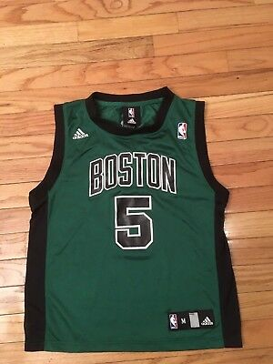 4de5cc7de0be ADIDAS NBA YOUTH Boston Celtics Kevin Garnett  5 Jersey Medium(10-12 ...