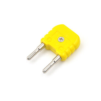K-Type Thermocouple Adaptor Mini K Type to Round Banana Plug Thermometer PP0
