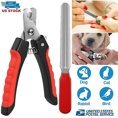 Stainless Steel Pet Dog Cat Professional Nail Toe Trimmer Clipper Grooming Tool