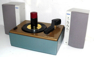 REFURBISHED RCA RECORD Player, Model 45-J-2 with Amplified Stereo Speakers